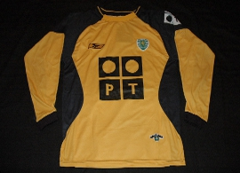 Sporting Lisbon goalie keeper shirt