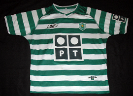 Sporting Lisbon shirt top 2003 2004