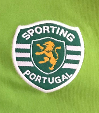 Sporting Lisbon Shirt prepared for Paulo Sergio Gonçalves Sporting Portugal UEFA Cup 2004