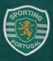 Sporting Lisbon 2004 2005 match worn Stromp shirt UEFA Cup final logo