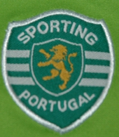 Sporting camisola alternativa 2004 2005 logo