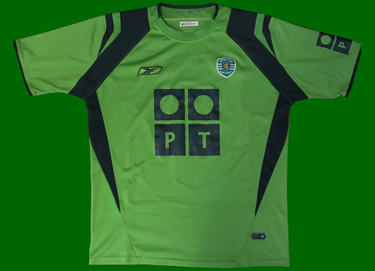 Sporting Lisbon away shirt UEFA final