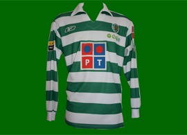 official equipment Portugal Sporting Abel 2005 2006