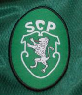 official jersey Sporting Lisbon match worn Patacas 1998/99 Stromp