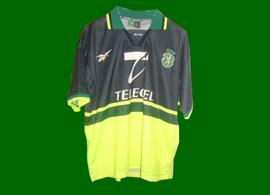 jersey Sporting Lisbon away match 1998/99