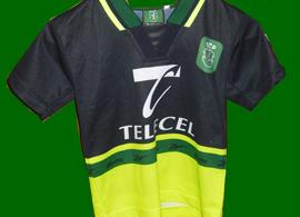 equipamento de criança do Sporting loja verde 98 99