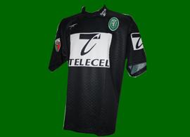 torwart spielertrikot Tiago 1998 1999 Sporting Lissabon