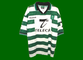 Sporting Portugal 99 00 acosta 11 camiseta futbol
