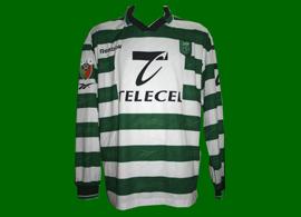 kit Sporting Edmilson Portuguese League champion 99/00 SCP