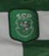 match worn Sporting Pedro Barbosa champ 1999 2000 honour badge