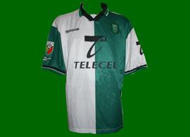 Sporting Club Portugal Marcos campeão 99/00 equipamento Stromp