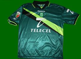 Sporting Lisbon Reebok away jersey match worn