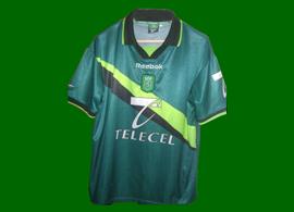 equipamento do Sporting fora 1999/00