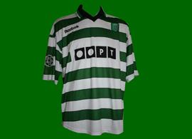 Sporting Champions League Edmilson 2000 2001 Reebok