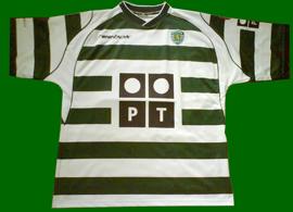 Sporting replica personalizada 2002 03 contreras