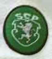 away jersey matchworn Sporting Lisbon 1998 1999 Simao crest