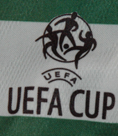 Sporting Lisbon UEFA Cup shirt, prepared for Santamaria 1999/00