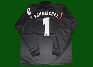 2000/01, camisola de jogo do Schmeichel