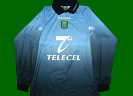 Goalkeeper replica jersey, personalized Peter Schmeichel Sporting Lisbon 1999/2000