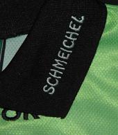 Peter Schmeichel goalkeeper replica top, in green. A classic!