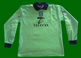Sporting Lisbon signed jersey Schmeichel 2000