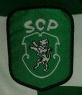 Hooped top worn by Rui Jorge Reebok Cup Santi Atletico