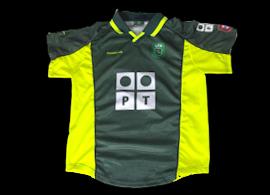 Reebok camisola alternativa de criança do Sporting de 2000 01