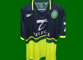Sporting Lissabon auswarts trikot 1998 1999 Telecel