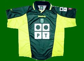 camisola Sporting Acosta alternative shirt 2000 2001