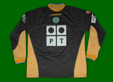 2002/03 equipamento de jogo do guarda redes Tiago