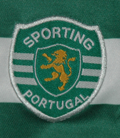 2003/2004. Match worn jersey of Sporting B side player Valdir