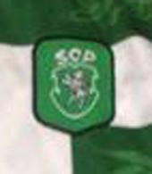 Camisola do Sporting oficial usada por Yordanov em campo