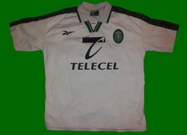 1998/1999. Replica jersey of the second away kit Sporting Lisbon 1998/99