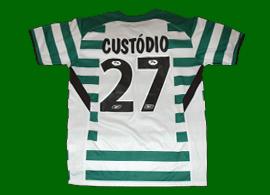 Player issue UEFA Sporting Portugal 2005 Custodio AZ Alkmaar