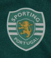 Sporting camisola Stromp 2004 2005 criança 16 anos emblema do Clube