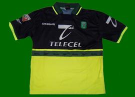 fourth away football top Sporting Lisbon Afonso Martins 99 00