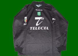 Match worn goalkeeper jersey Sporting Lisbon shirt Nelson 99 00