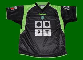 equipamento alternativo de jogo Sporting Rui Jorge 2001 02