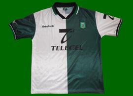 Sporting Lisbon Stromp replica jersey 1999 2000
