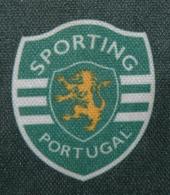 Equipamento oficial alternativo de criança do Sporting 2002 03 patch campeão