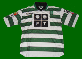 Camisola do Sporting Beto 2000 01