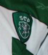 2001/2002. Sporting Lisbon match worn football shirt of Joao Pinto, Sporting Clube de Portugal