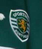 Camisola do Sporting de jogo Stromp de mangas compridas, do João Pinto camisola de jogo do campeonato nacional