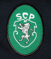 equipamento alternativa Reebok Sporting Clube de Portugal 1998 1999 Telecel logo