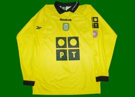 equipamento de guarda redes, réplica personalizada Peter Schmeichel Sporting 2000/01