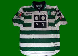 Sporting Lisbon Cristiano Ronaldo shirt unbelievably badly made player number