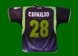 Sporting Lisbon Cristiano Ronaldo. Wrong season, wrong shirt