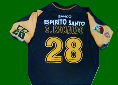 Fake away Sporting Lisbon Cristiano Ronaldo shirt
