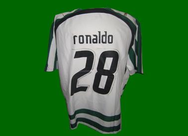 home Sporting Lisbon Cristiano Ronaldo shirt