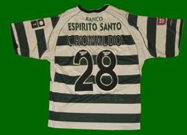 a21ab7dc2 Cristiano Ronaldo Sporting Lisbon replica jerseys